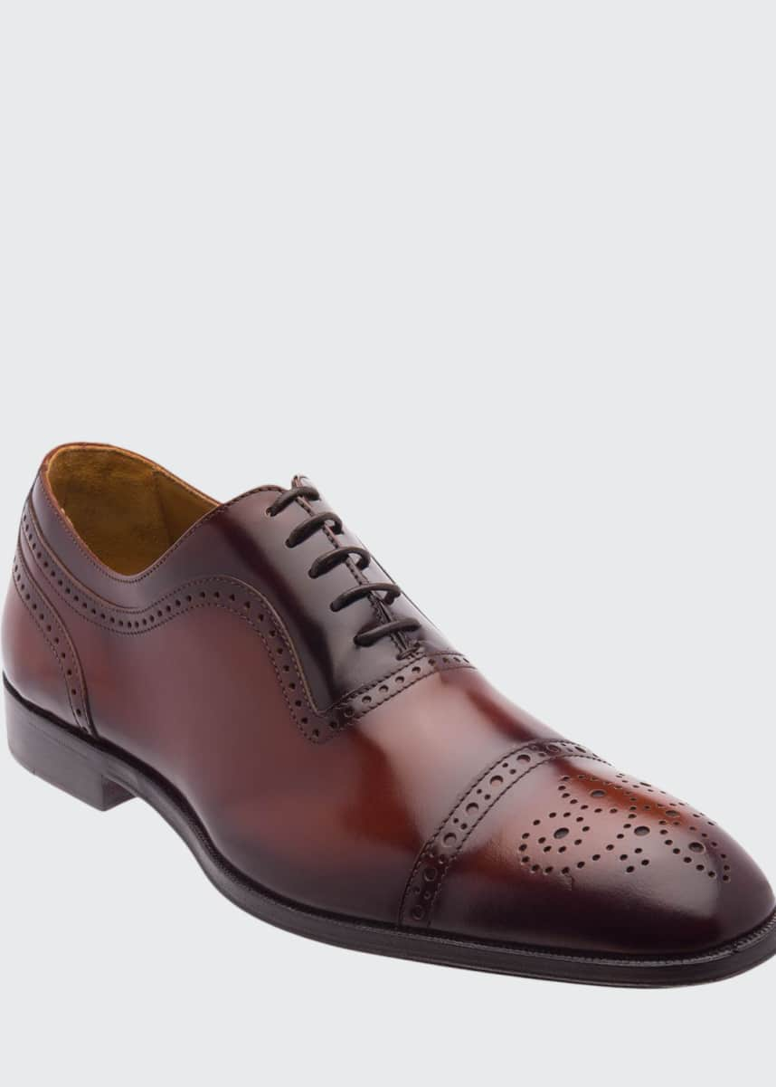 Bruno Magli Men's Ancona Brogue Leather Oxford Shoes