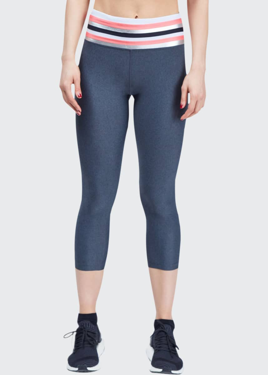 Urban Savage Tri Cropped High-Rise Leggings
