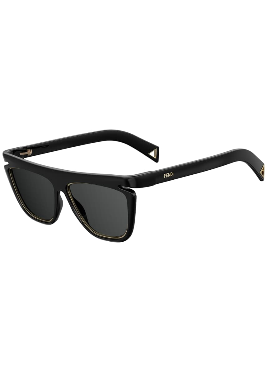 Fendi Rectangle Optyl Sunglasses