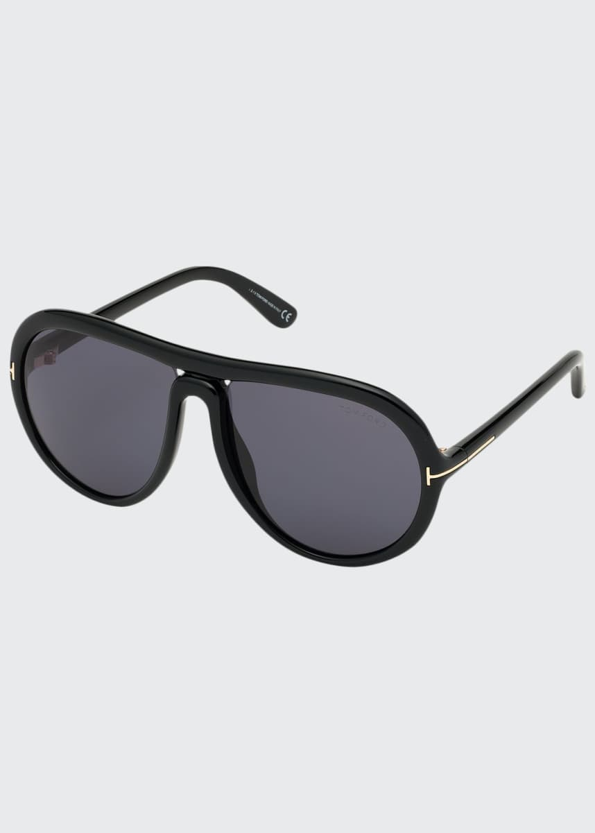 TOM FORD Cybil Acetate Aviator Sunglasses