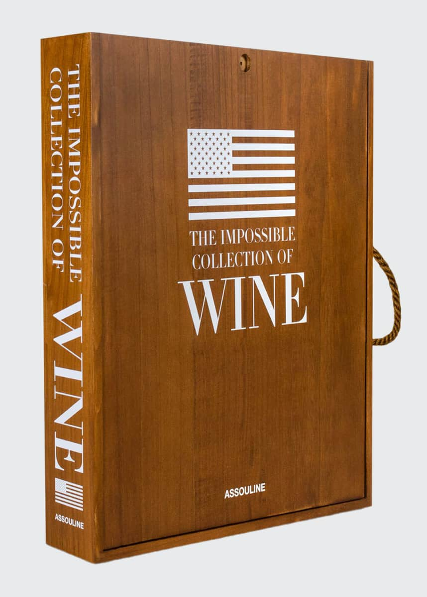 "Assouline ""The Impossible Collection of American Wine"" Book"