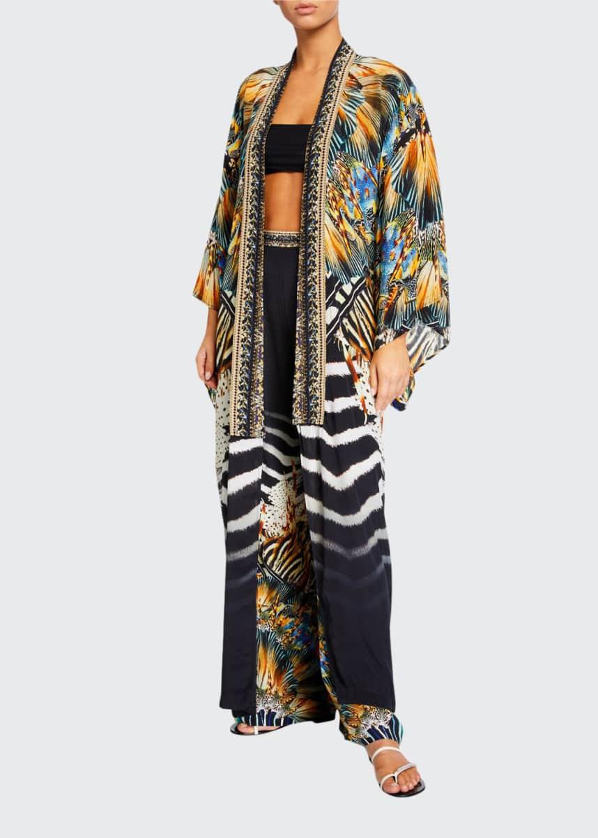 Womens Beach Bikini Cover Up Striped Asymmetric Dress Size 6 8 10