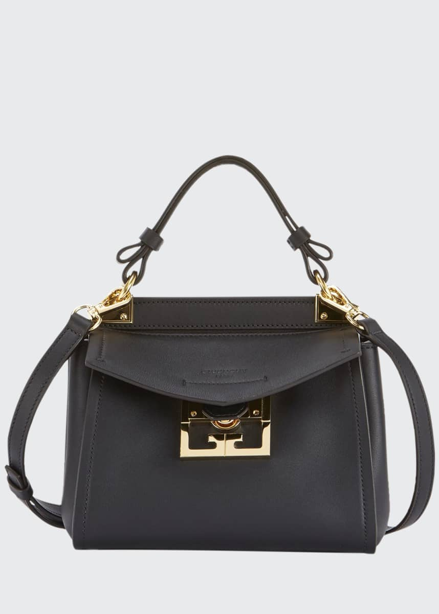 Givenchy Mystic Mini Calfskin Top-Handle Bag