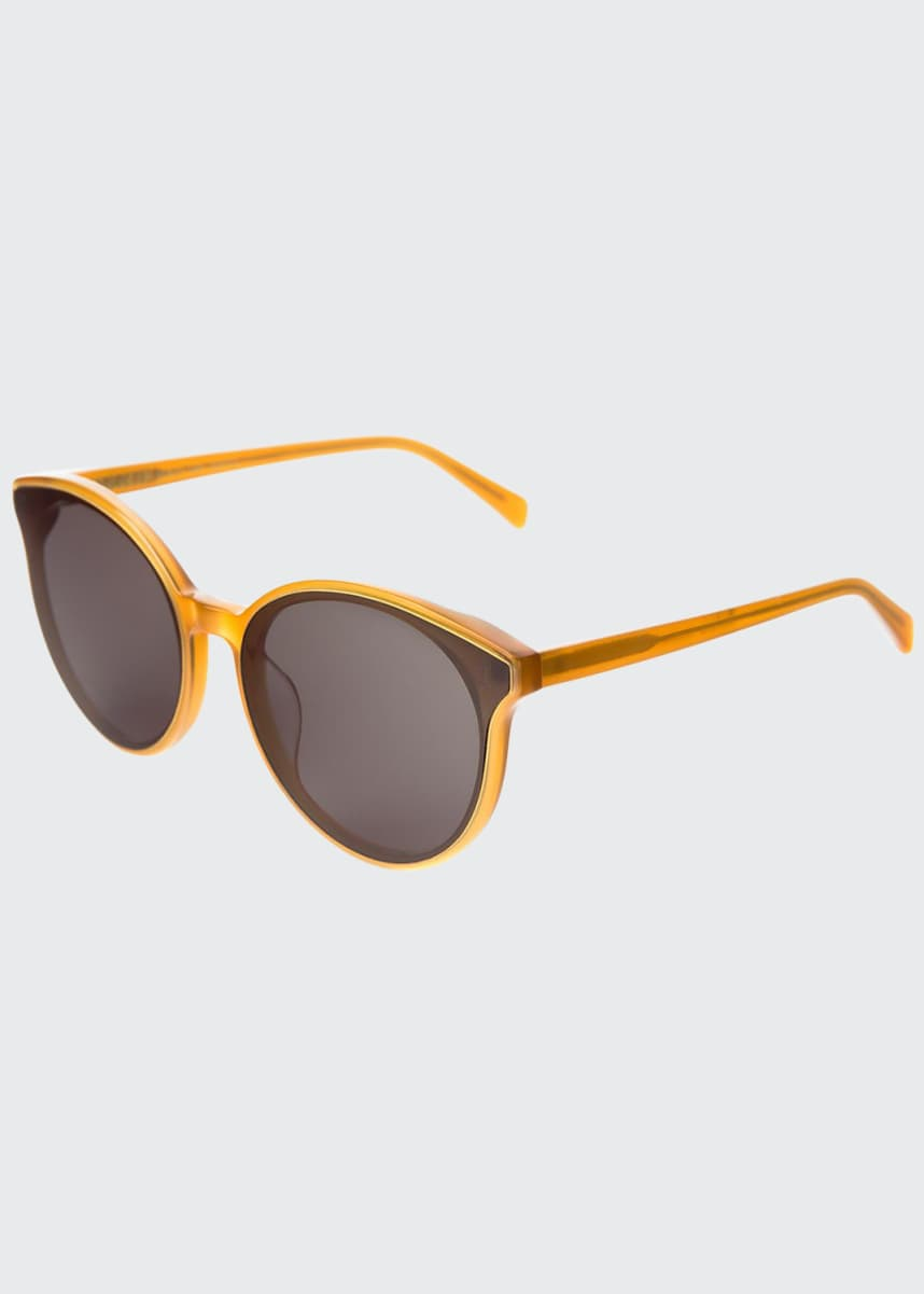 Illesteva Helen Acetate Cat-Eye Sunglasses