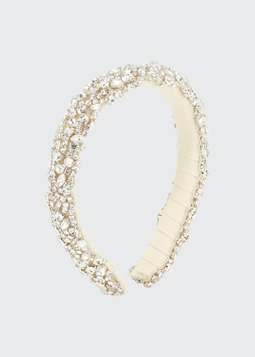 Jennifer Behr Czarina Crystal Embellished Headband