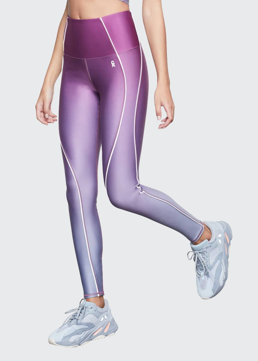 Good American Ombre Contour Active Leggings - Inclusive Sizing