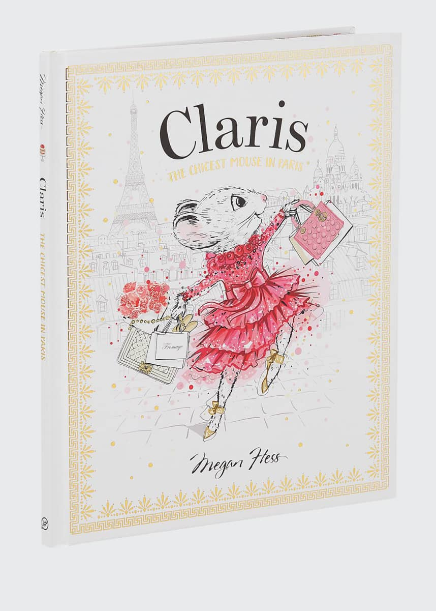 "Chronicle Books ""Claris: The Chicest Mouse in Paris"" Book by Megan Hess"