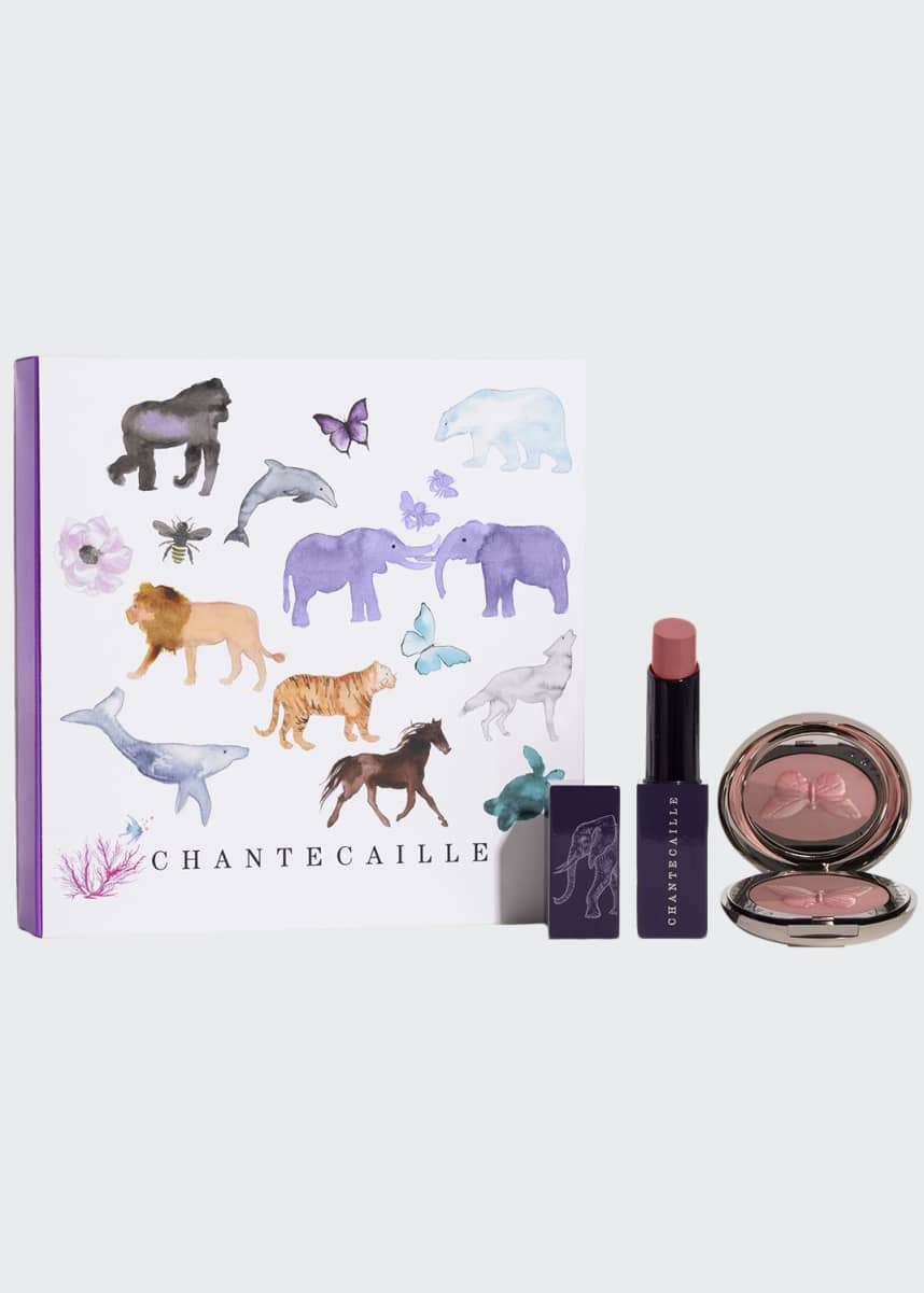 Chantecaille Wild Pair: Cheek and Lip Duo