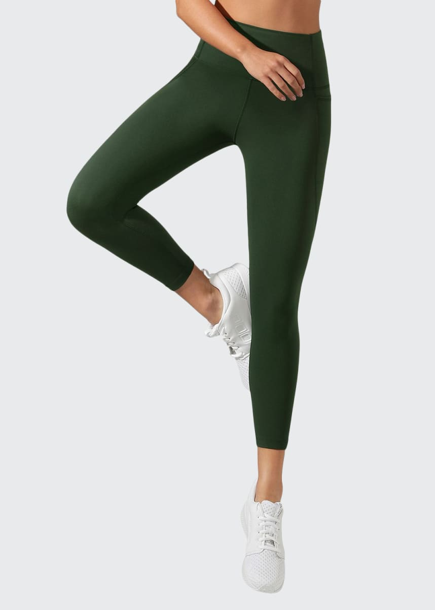 Lorna Jane High Rise Pocket Core Ankle Biter Tights