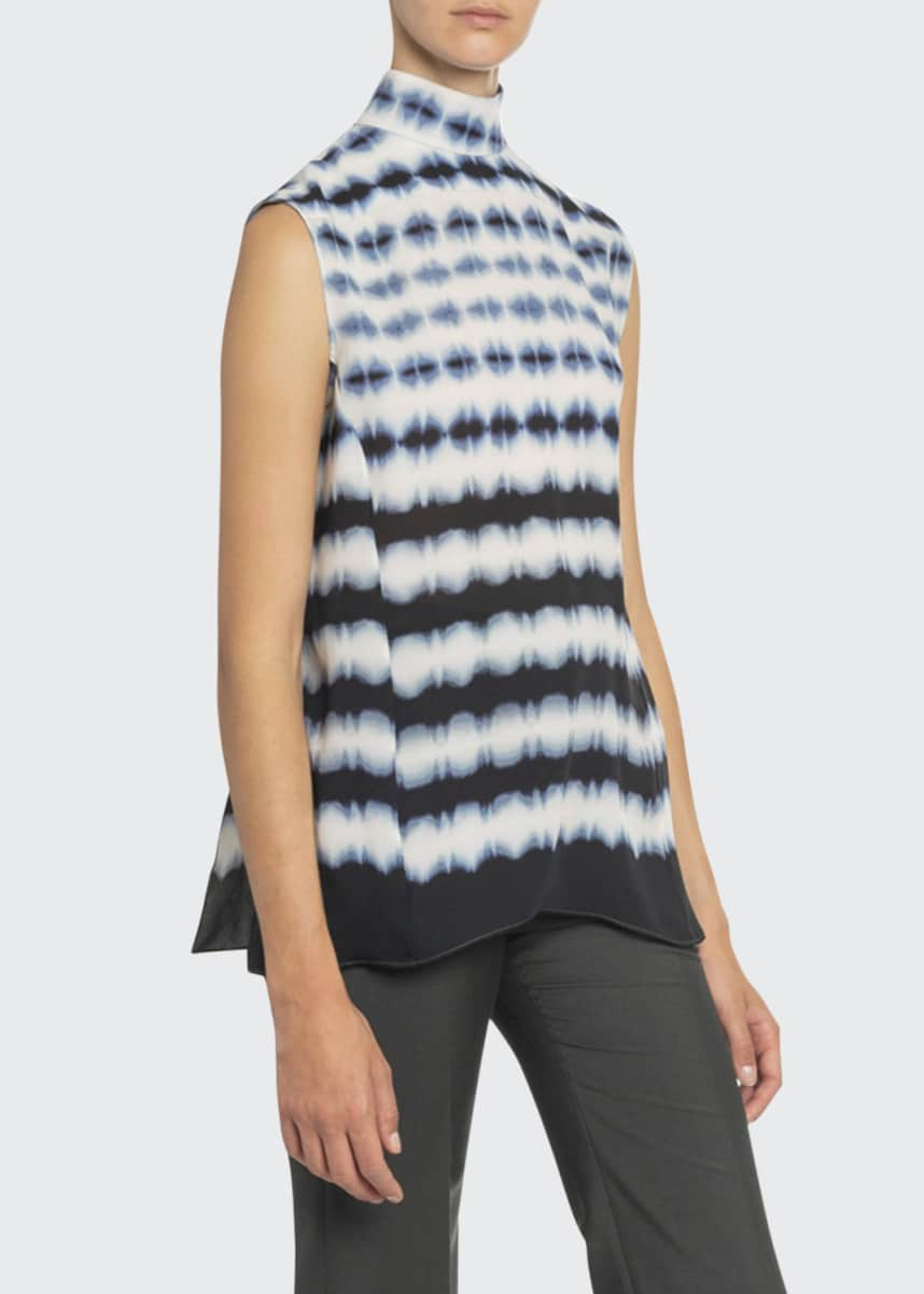 Boon The Shop Day & Night Tie-Dyed Georgette Top