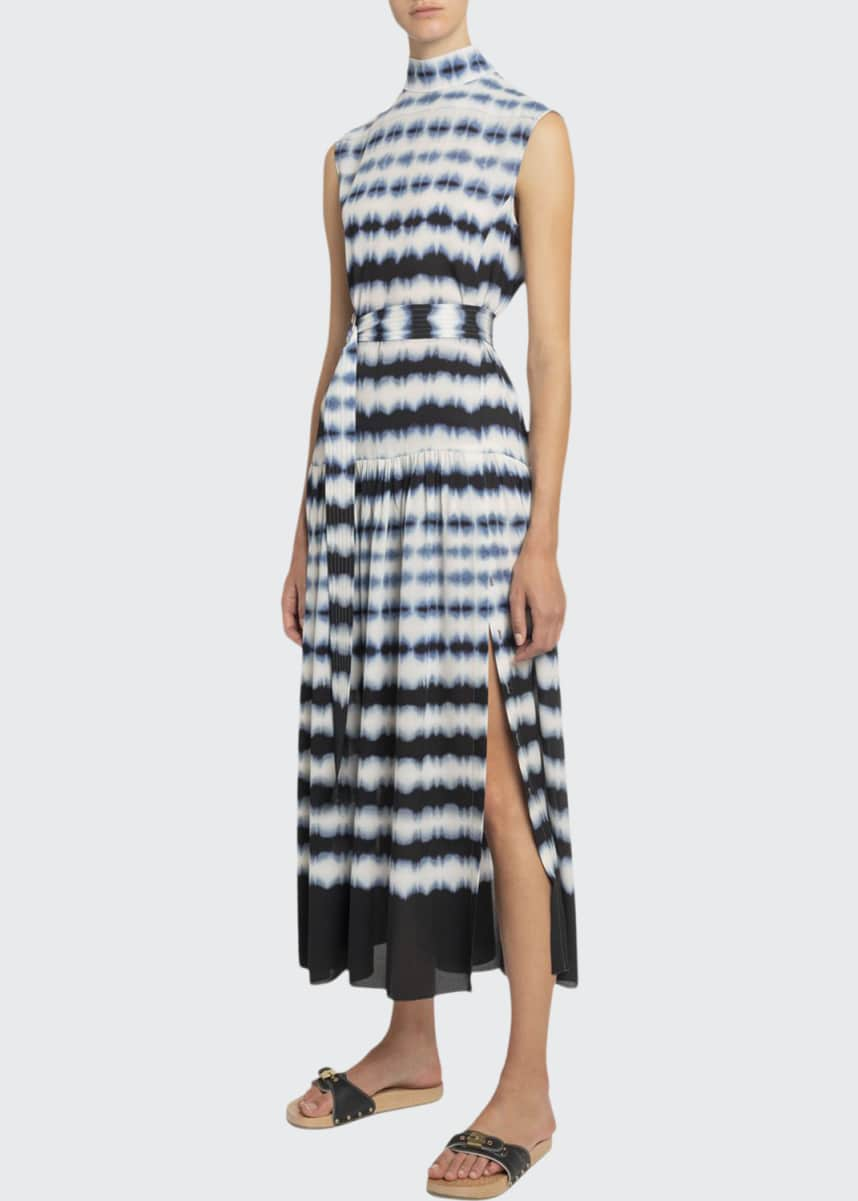 Boon The Shop Day & Night Tie-Dyed Georgette Dress