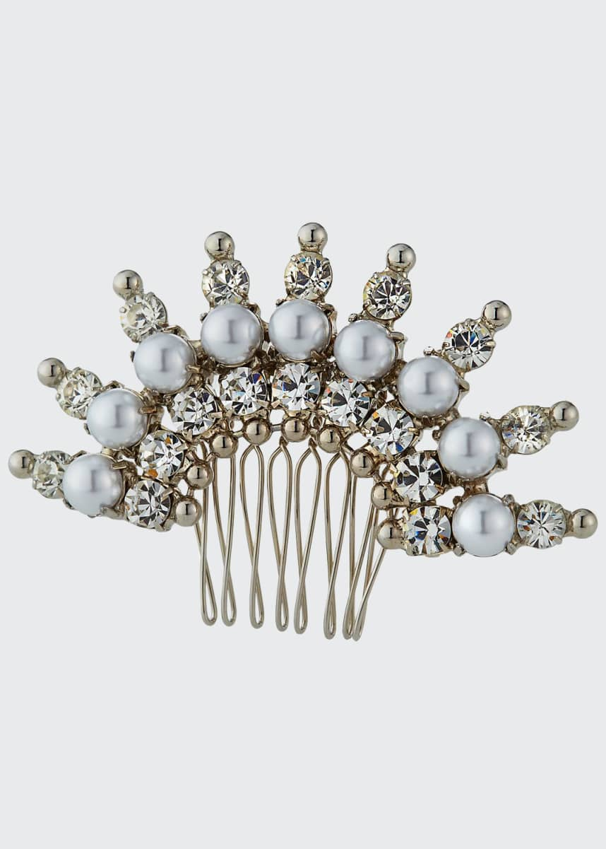 Auden Hollway Crystal Hair Comb