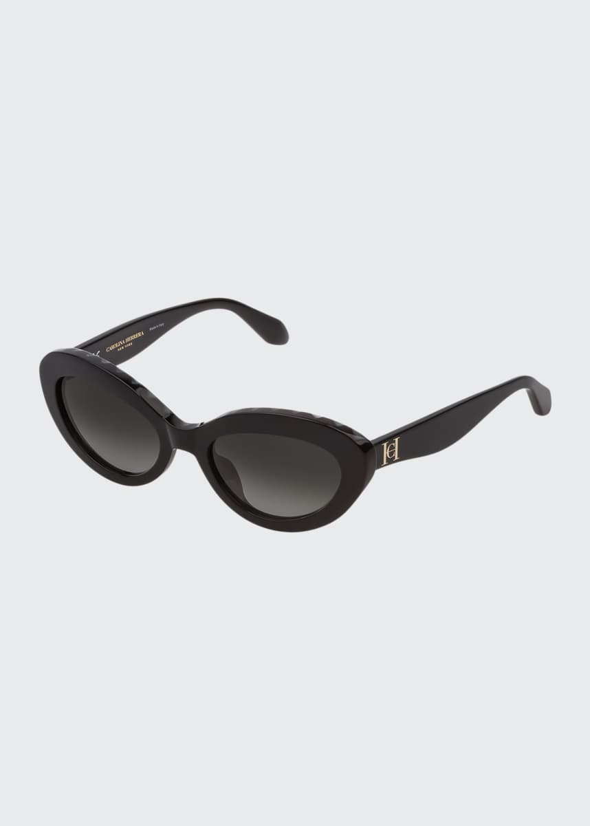 Carolina Herrera Acetate Cat Eye Sunglasses