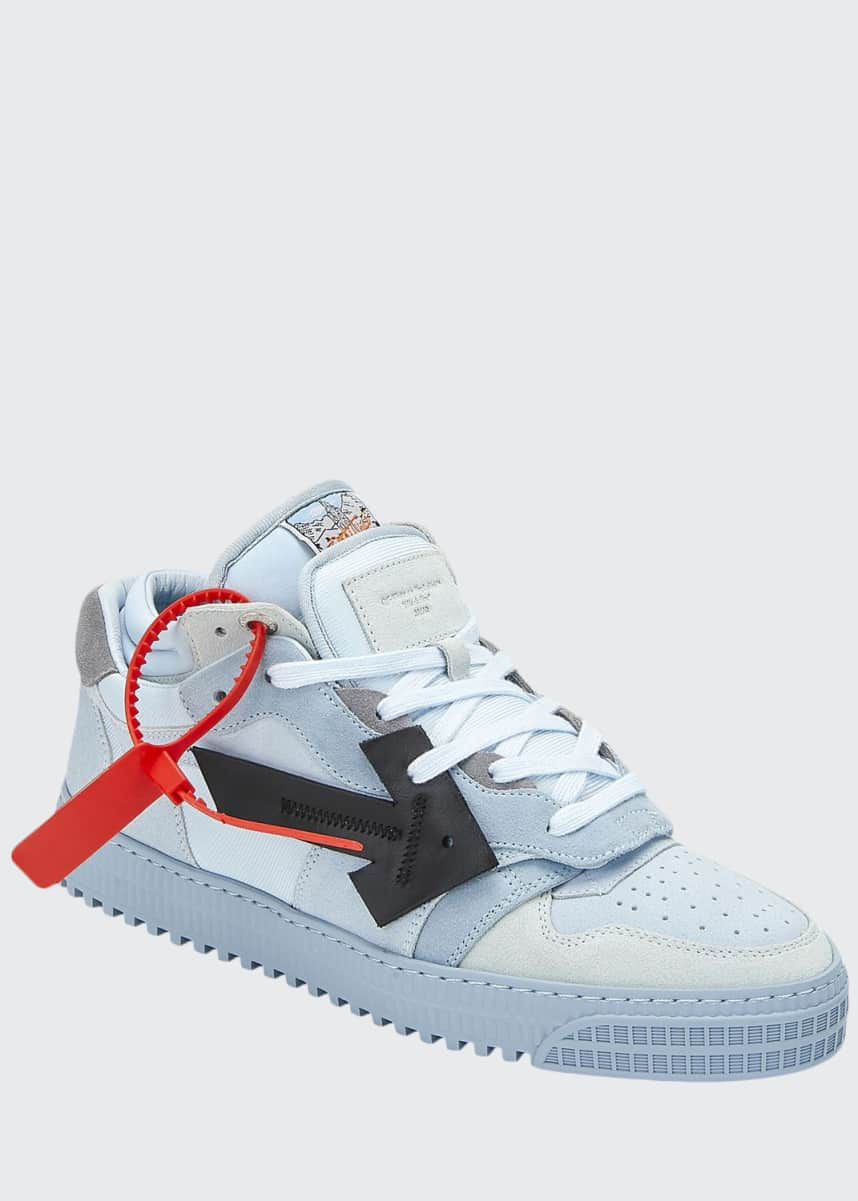 Off-White Men's Off Court Mid-Top Sneakers