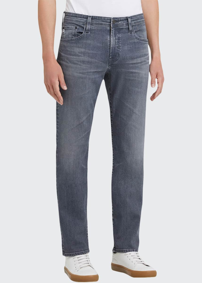 AG Adriano Goldschmied Men's Everett Straight-Leg Jeans