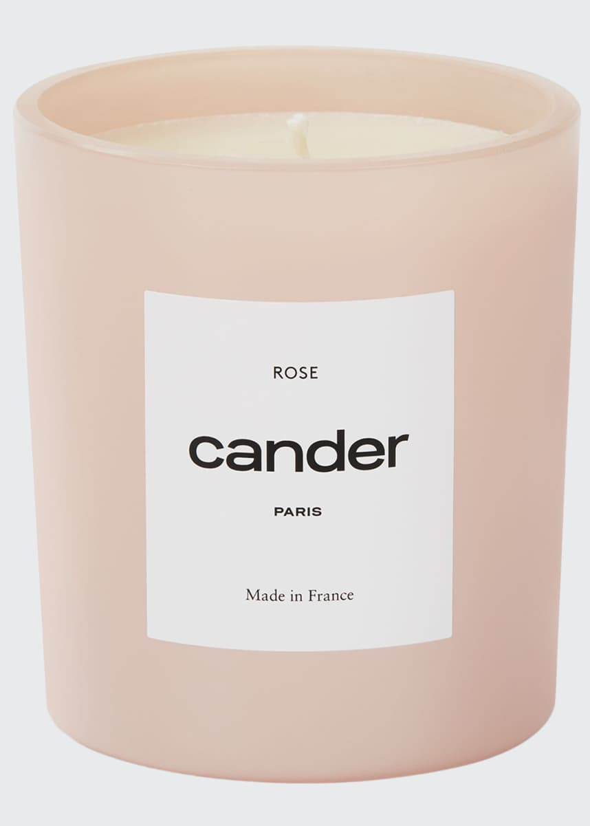 Cander Rose Candle, 8.8 oz./250 g
