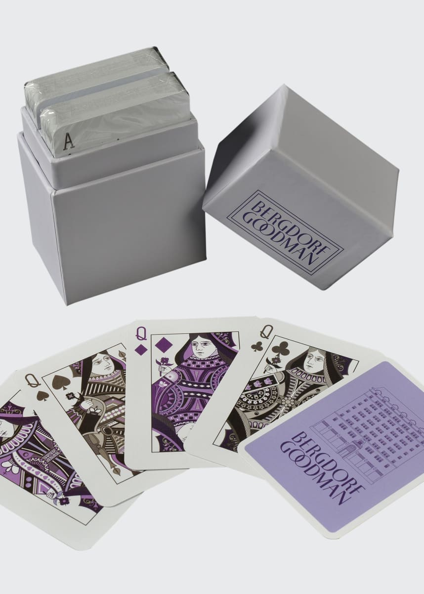 Purling London Bergdorf Goodman Playing Cards