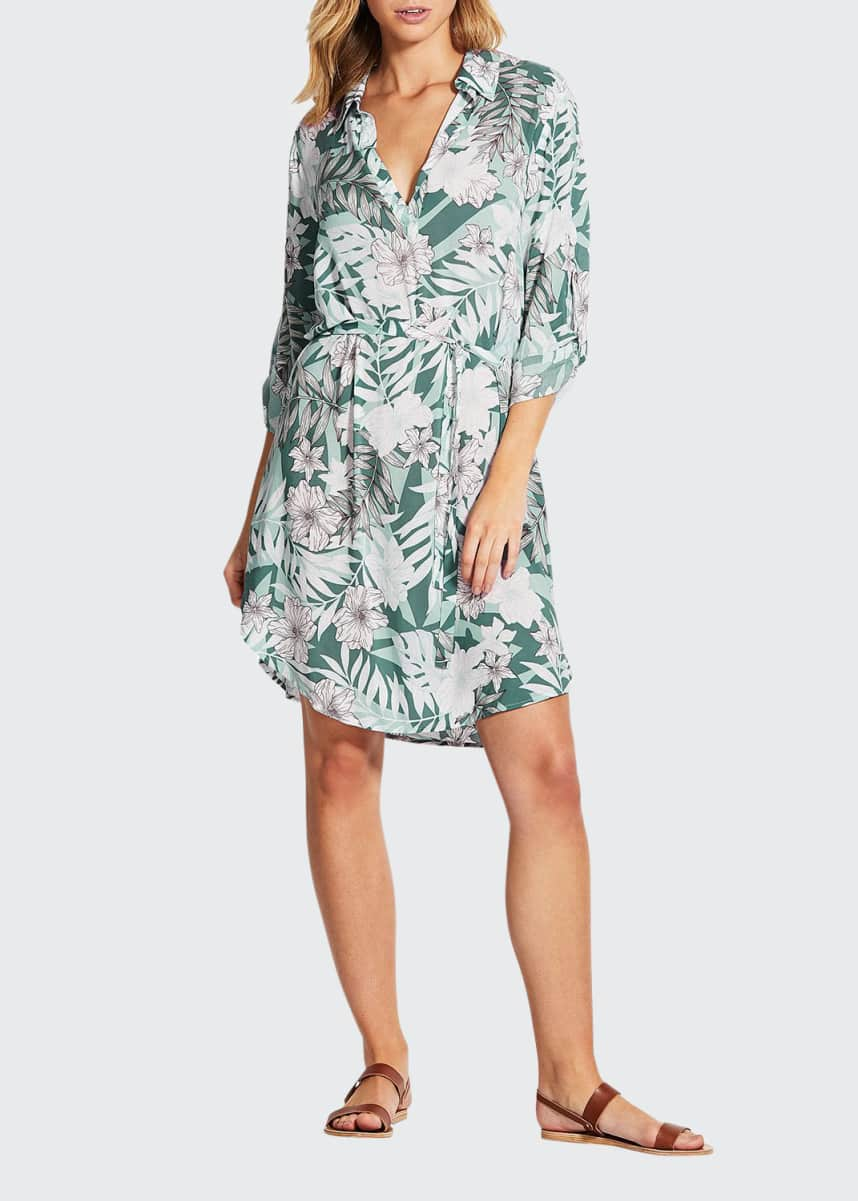 Seafolly Copacabana Shirt Dress