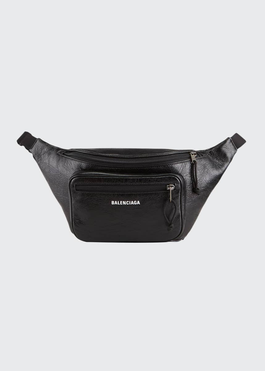 Balenciaga Men's Explorer Lambskin Belt Bag