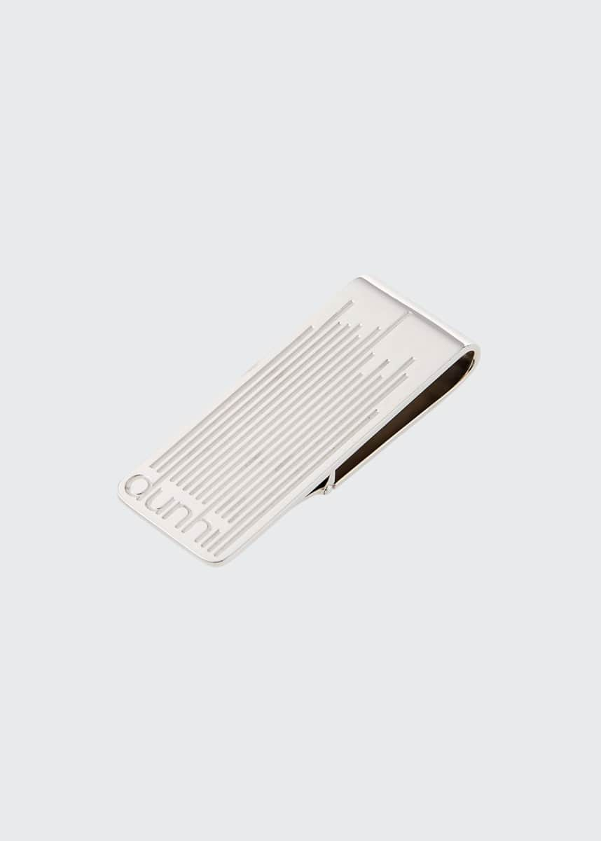 dunhill Men's Longtail Stripe Money Clip