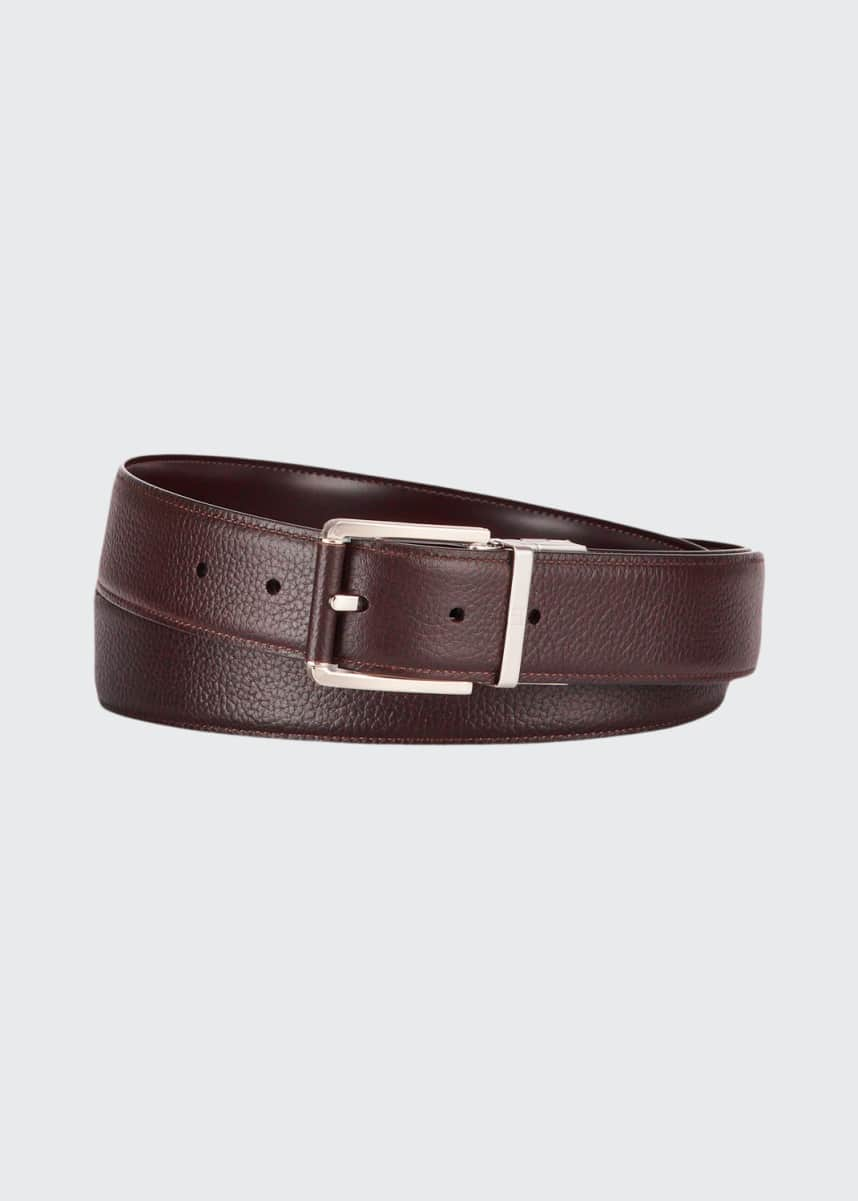 dunhill Men's Reversible Leather Belt