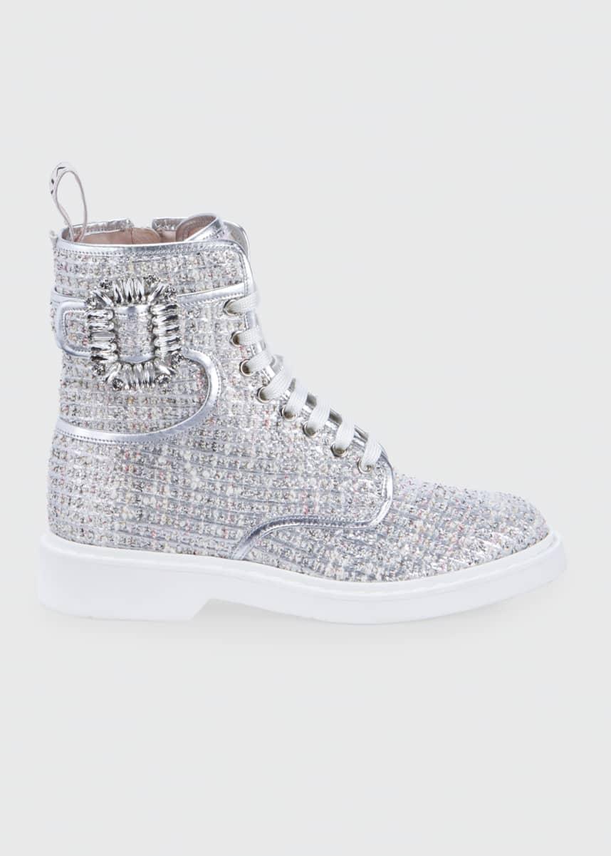 Designer Footwear : Leather Boots at Bergdorf Goodman