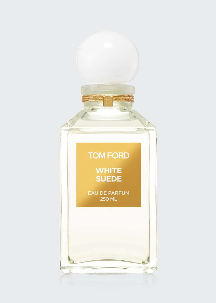 TOM FORD White Suede Decanter, 8.5 oz./ 250 mL