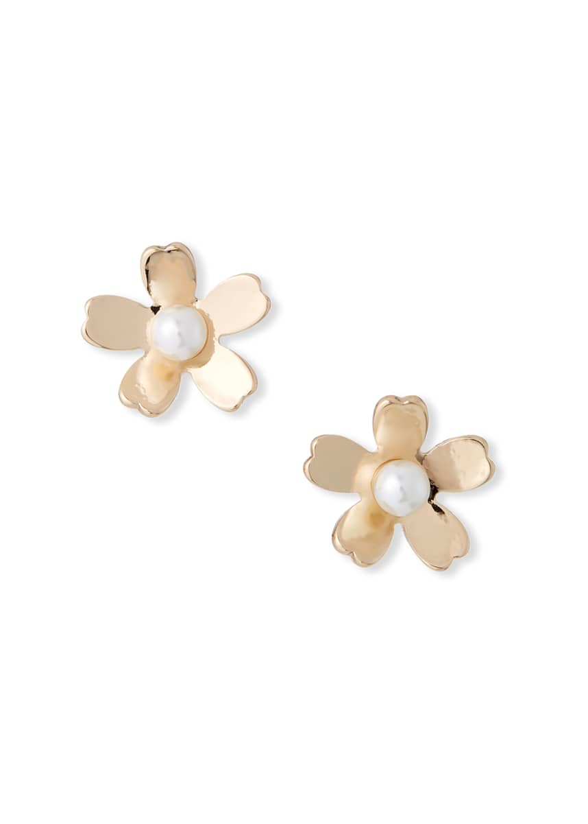 Lele Sadoughi Garden Flower Stud Earrings