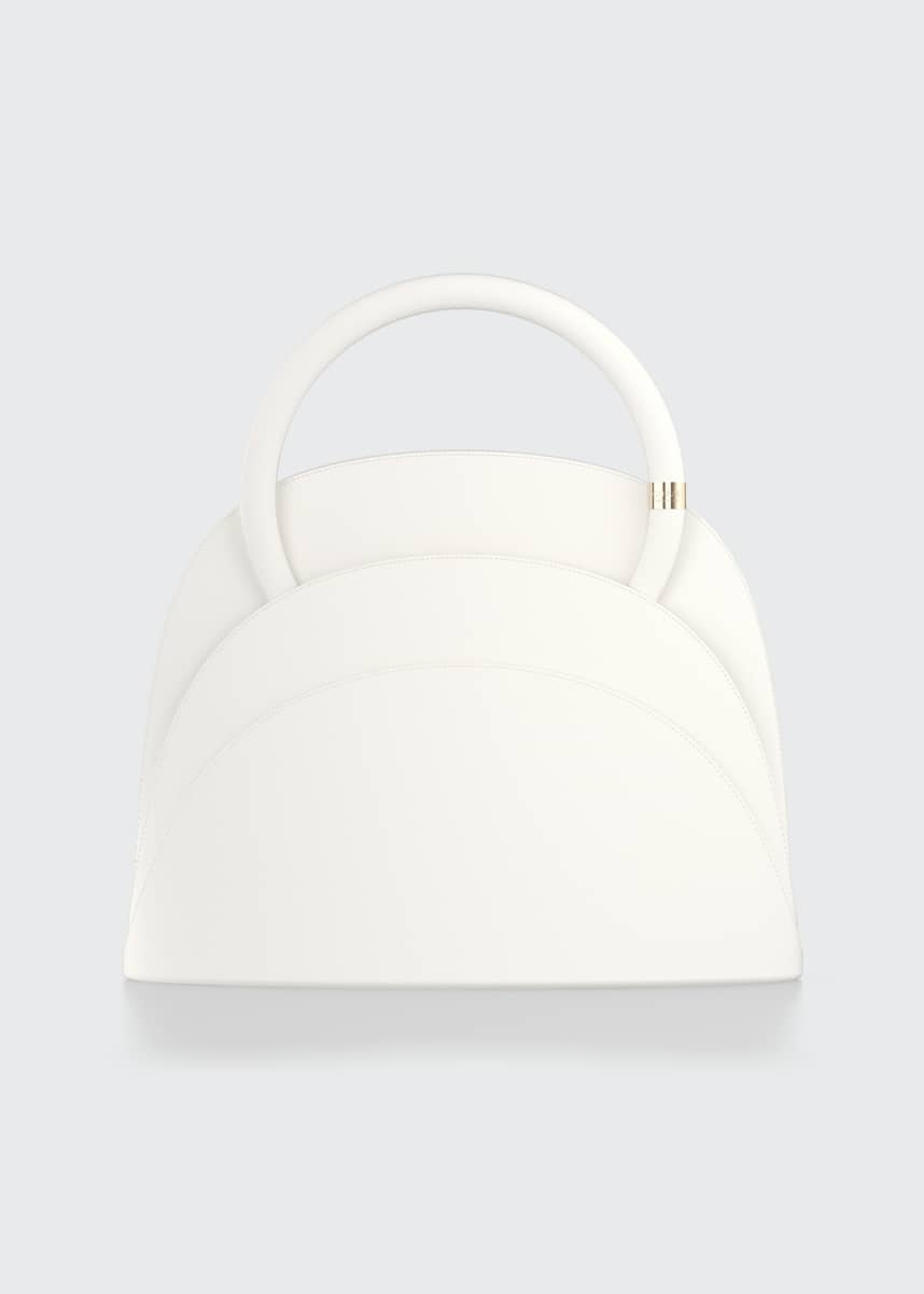 Gabo Guzzo Millefoglie M Mini Leather Top Handle Bag