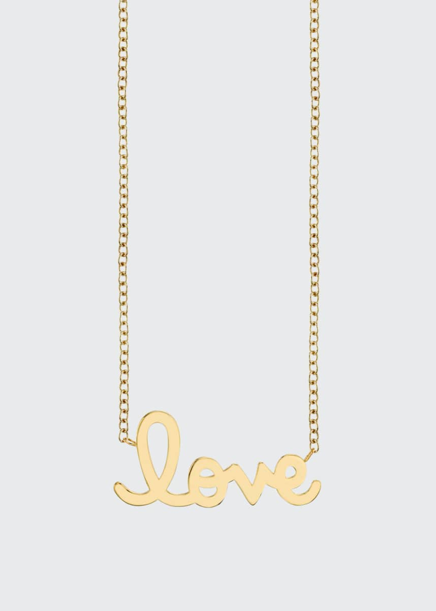 Sydney Evan Pure Love 14k Yellow Gold Necklace
