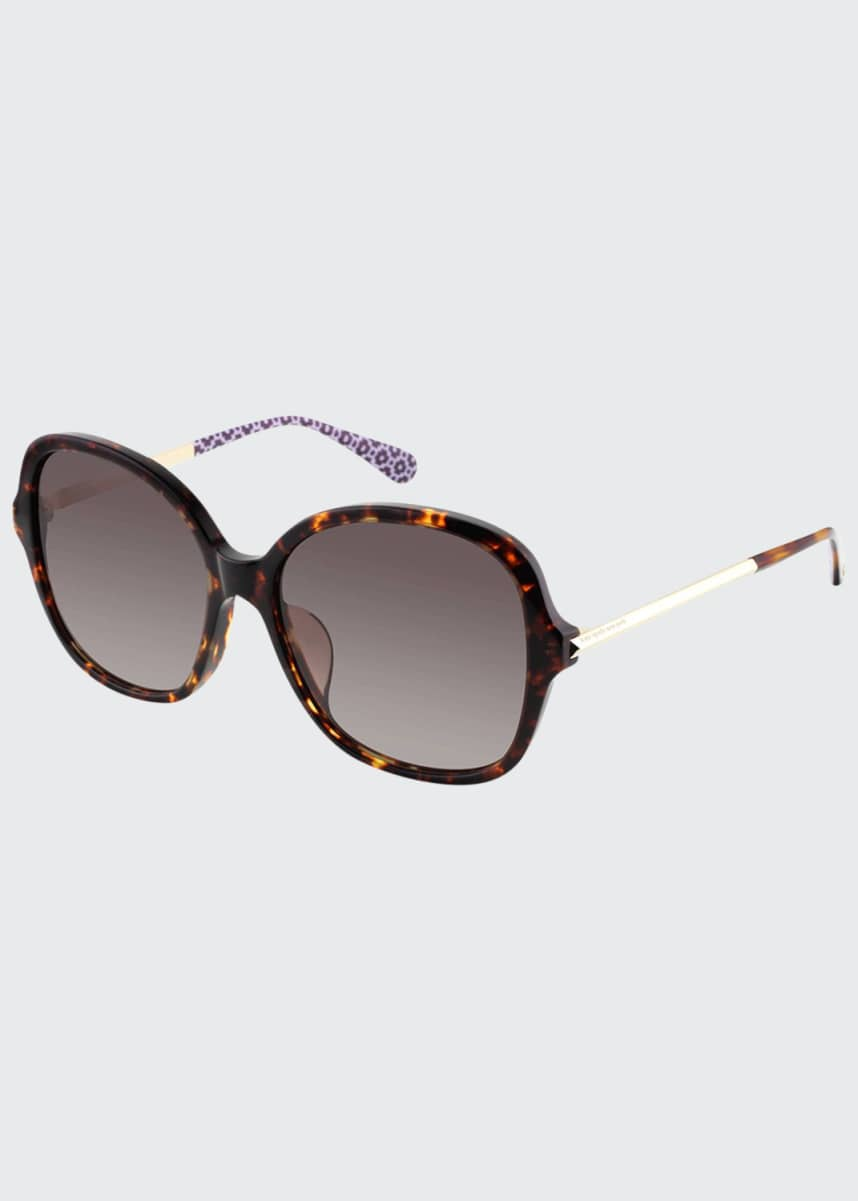kate spade new york kaiyags square gradient sunglasses