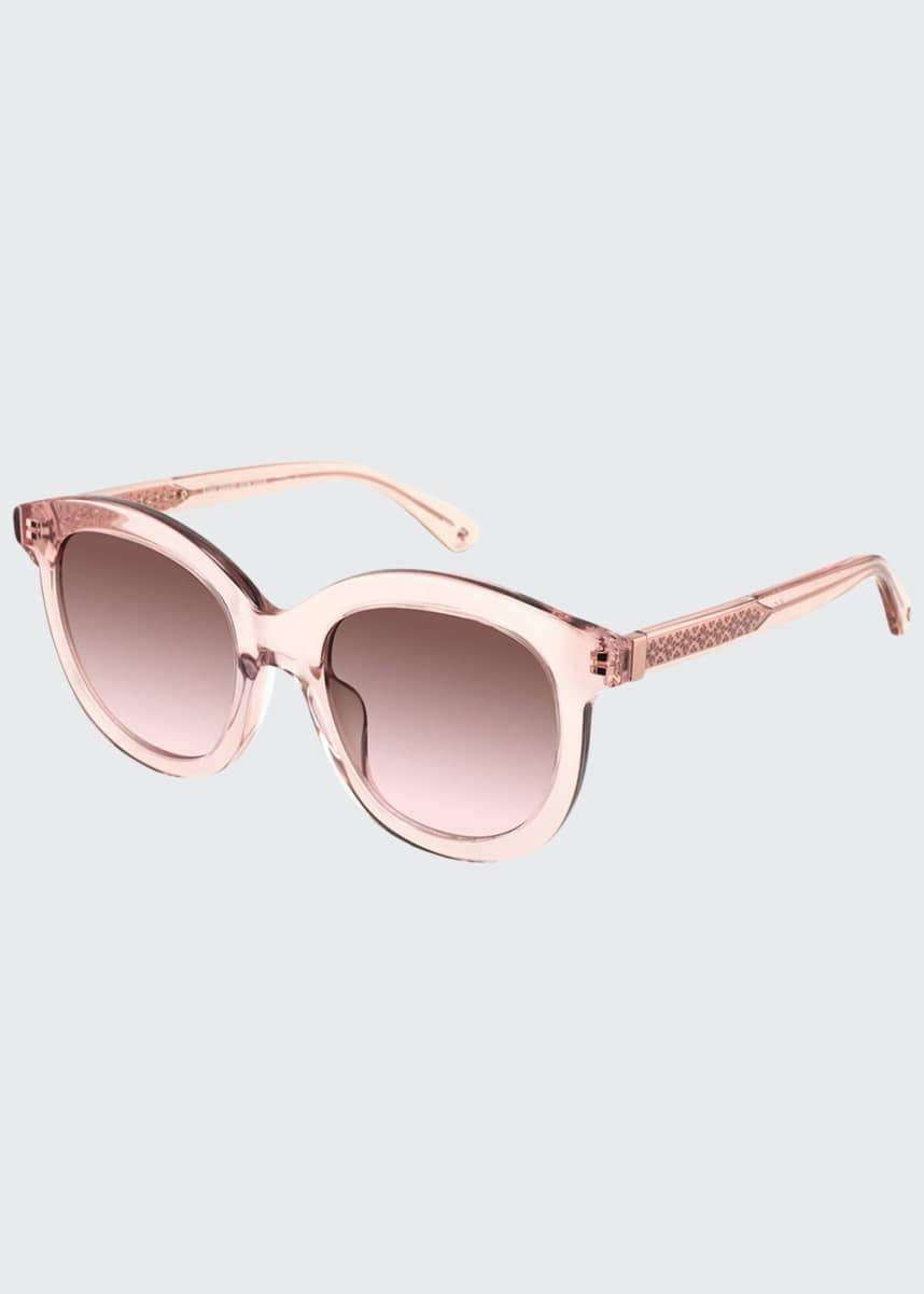 kate spade new york lilliangs round acetate sunglasses