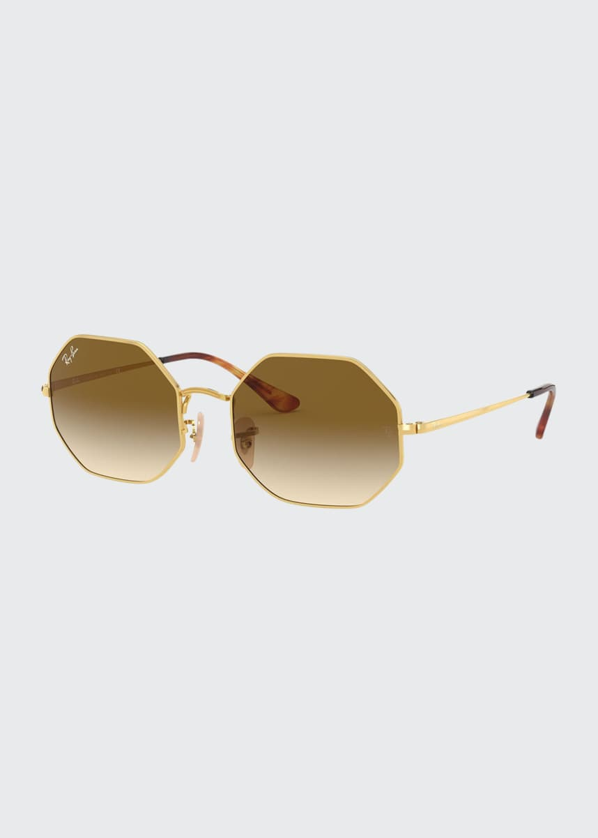 Ray-Ban Octagonal Metal Sunglasses