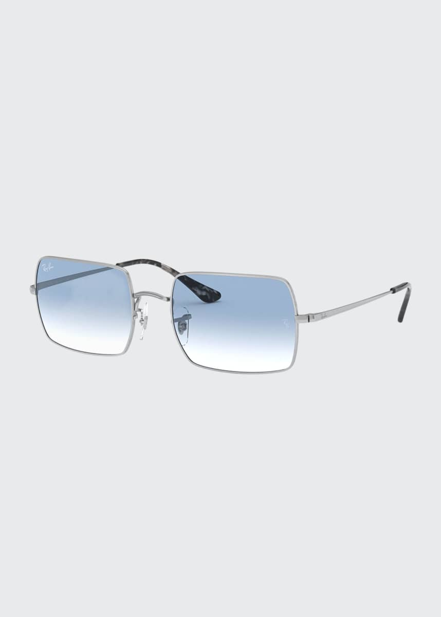 Ray-Ban Rectangle Metal Sunglasses
