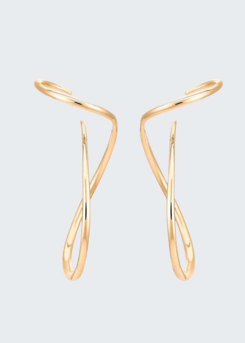 Beyond Luxury Rose Gold Designer/'s Earrings