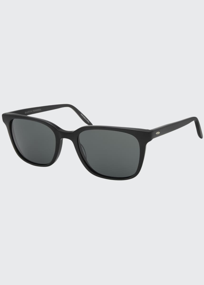 Barton Perreira Men's Joe 007 Square Acetate Sunglasses