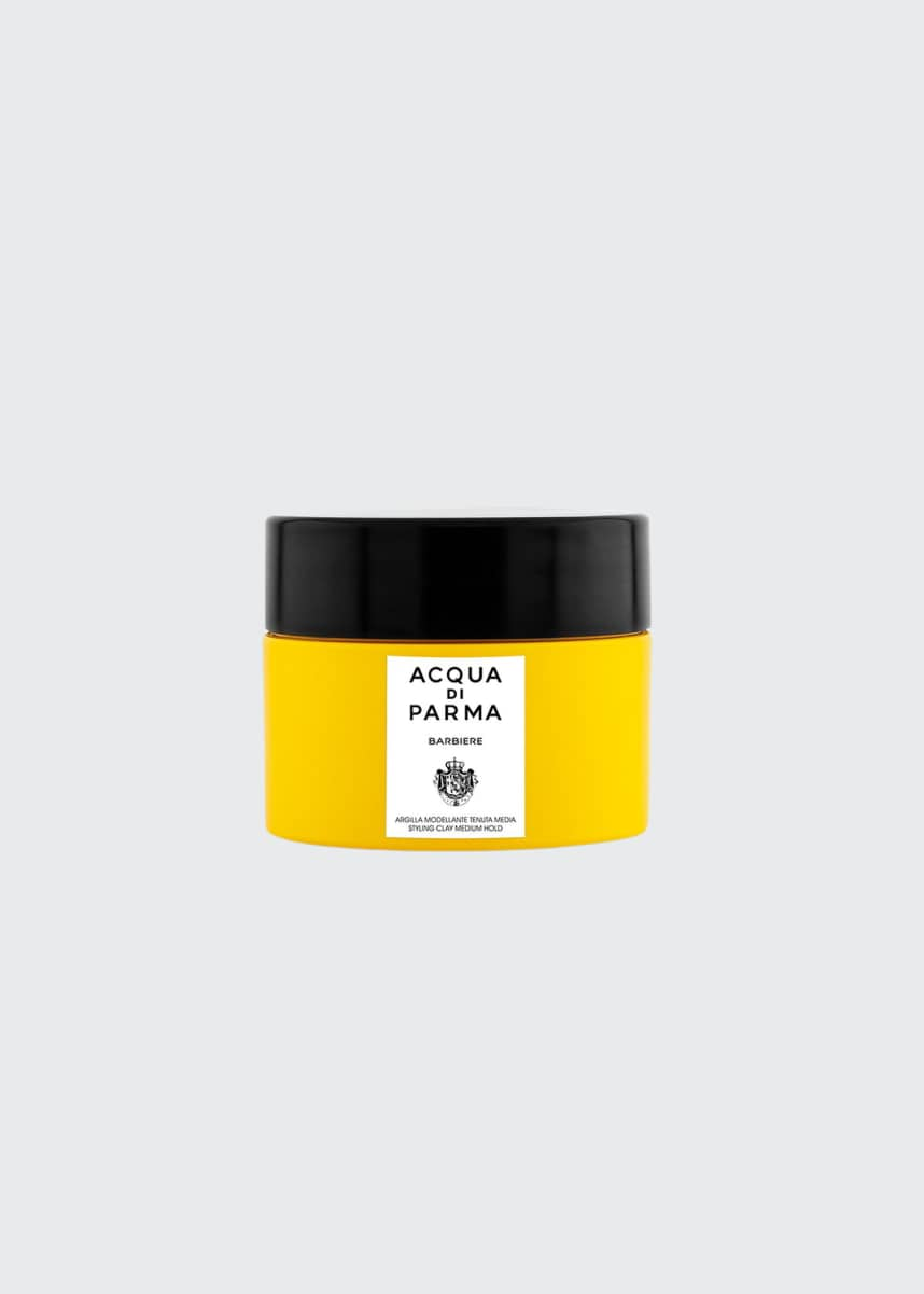 Acqua di Parma Barbiere Styling Clay Medium Hold, 2.5 oz./ 75 mL