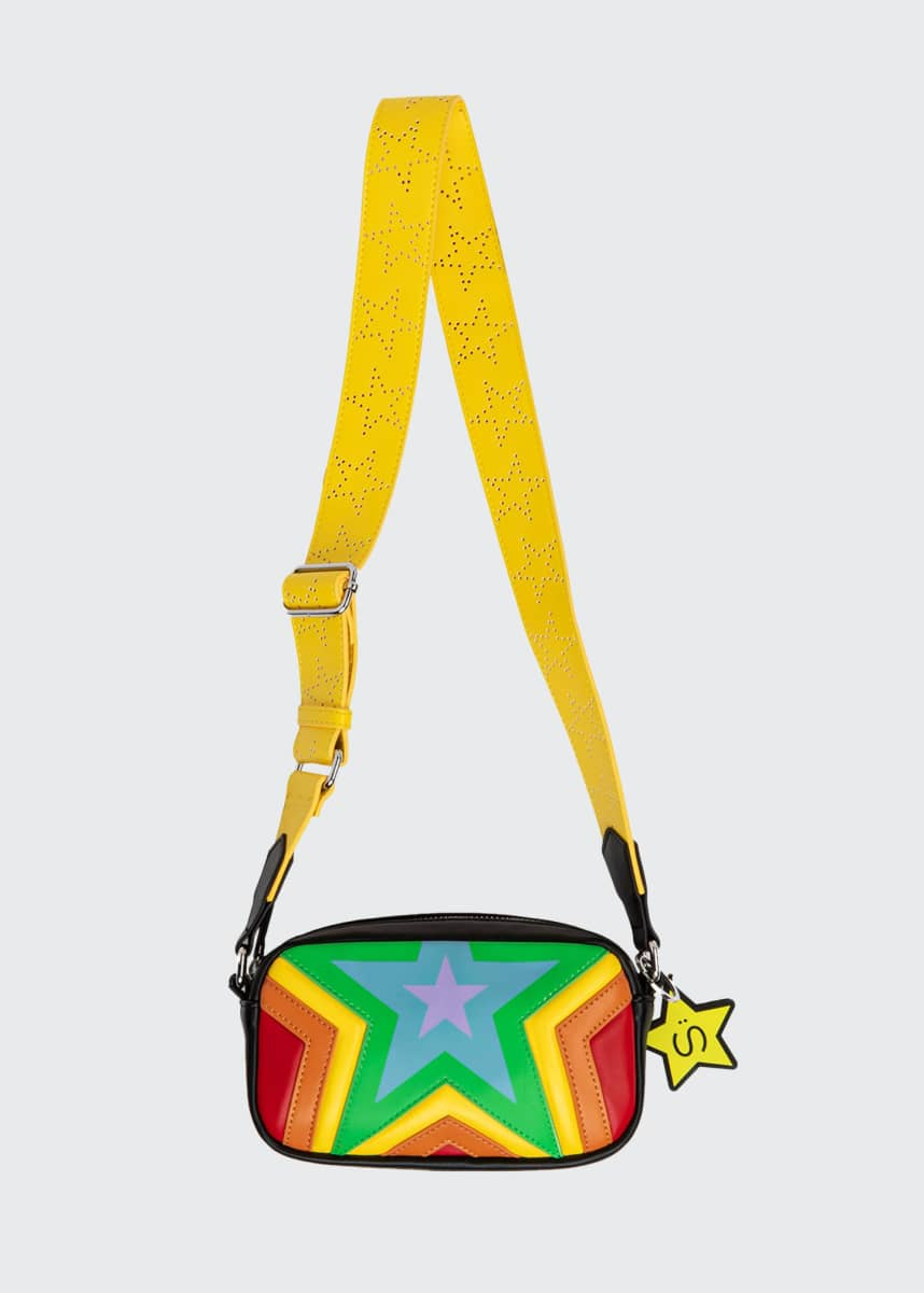 Stella McCartney Kids Quilted Stars Crossbody Bag