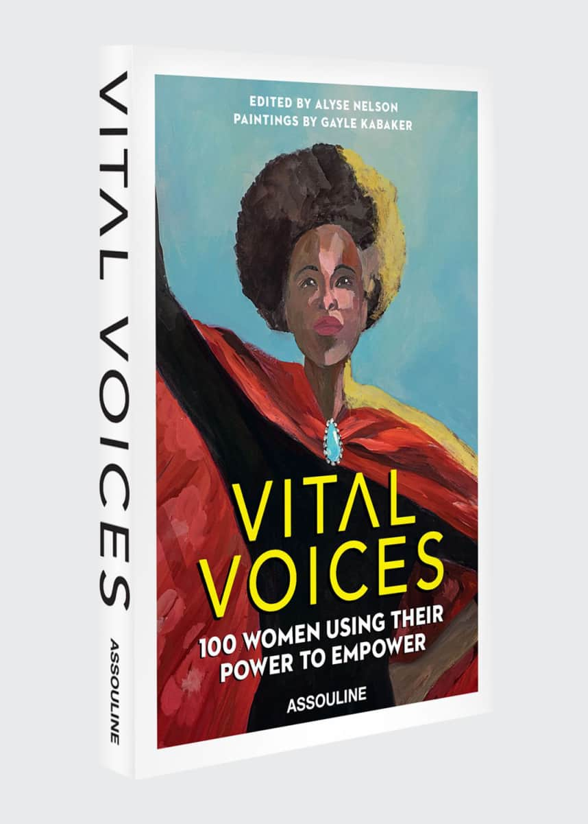 "Assouline ""Vital Voices: 100 Women Using Their Power to Empower"" Book"