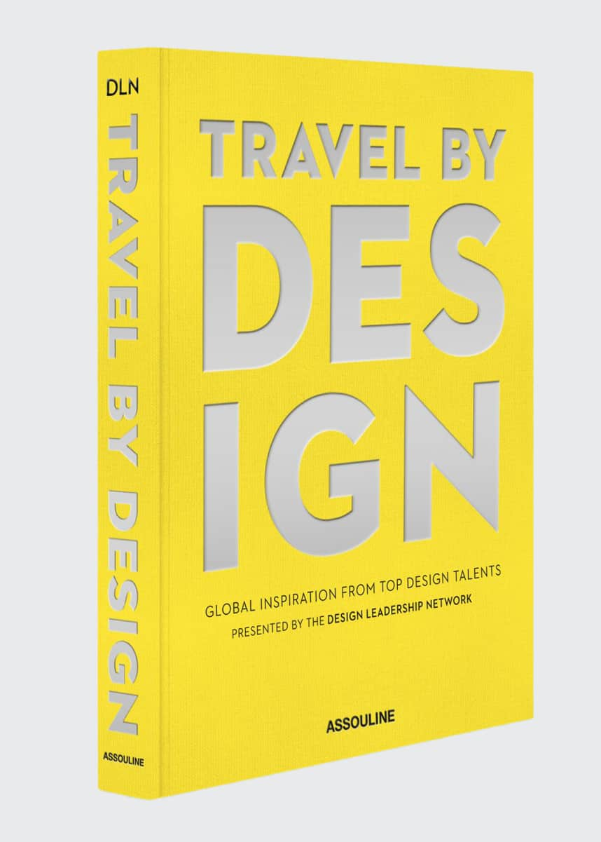 "Assouline ""Travel by Design"" Book"