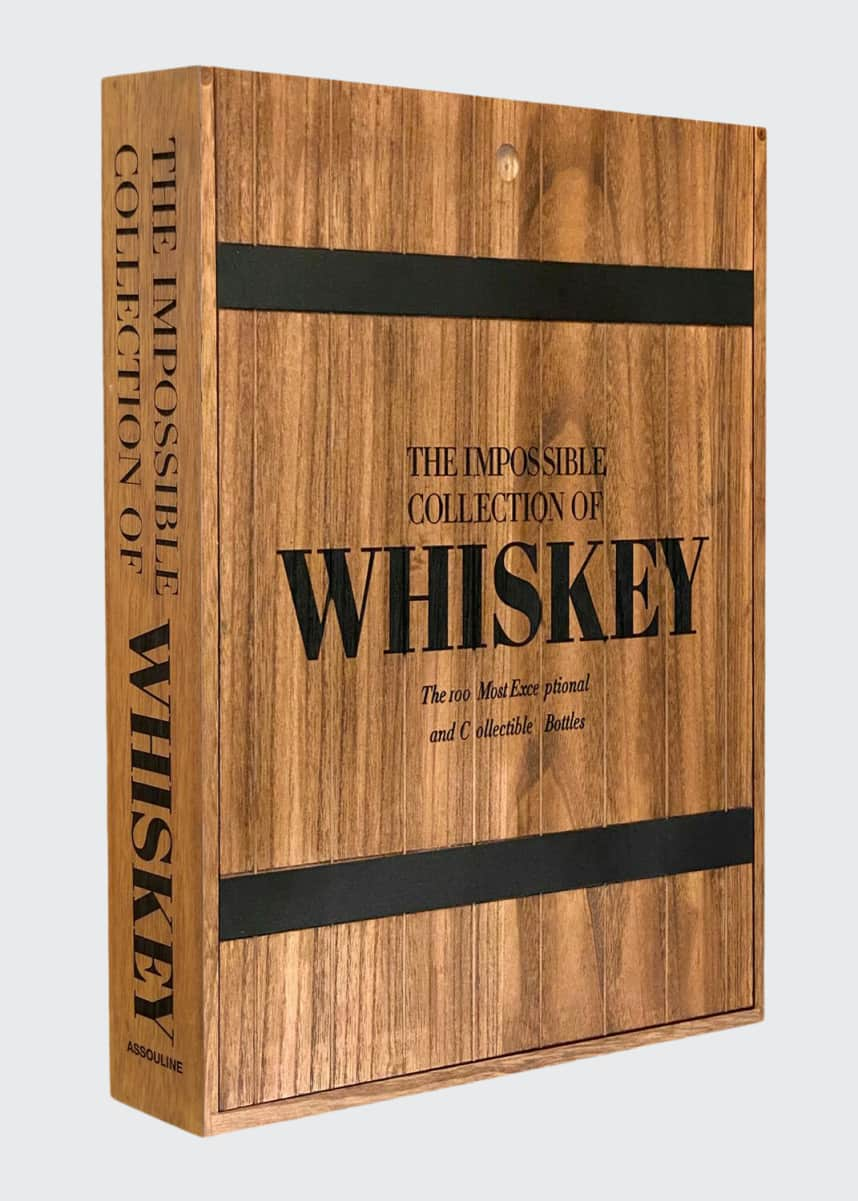 "Assouline ""The Impossible Collection of Whiskey"" Book"