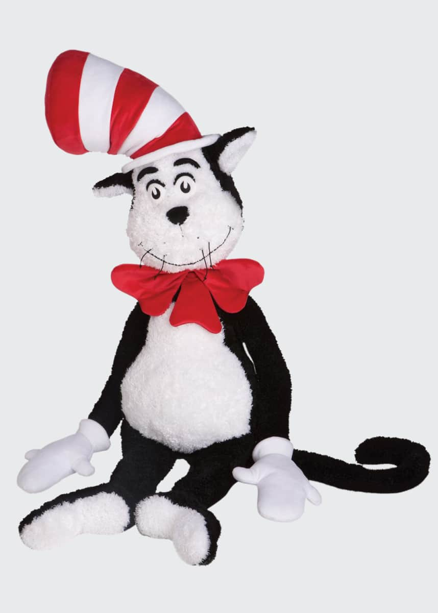 Manhattan Toy Jumbo The Cat In The Hat Plush Toy