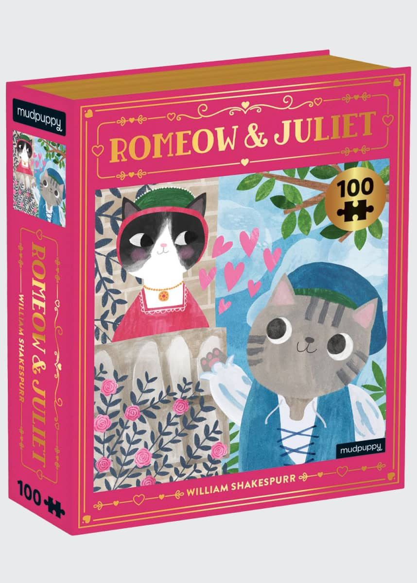 Chronicle Books Romeow and Juliet Bookish Cats Puzzle