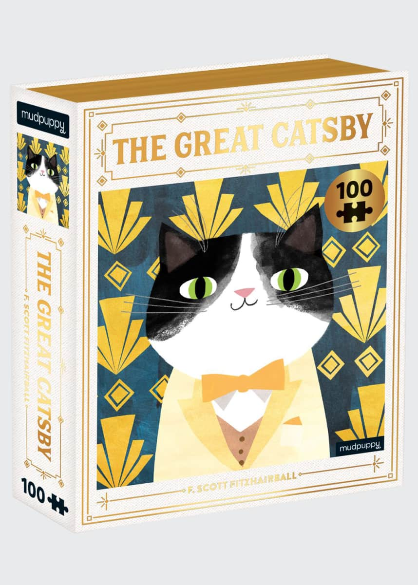 Chronicle Books The Great Catsby Bookish Cat Puzzle