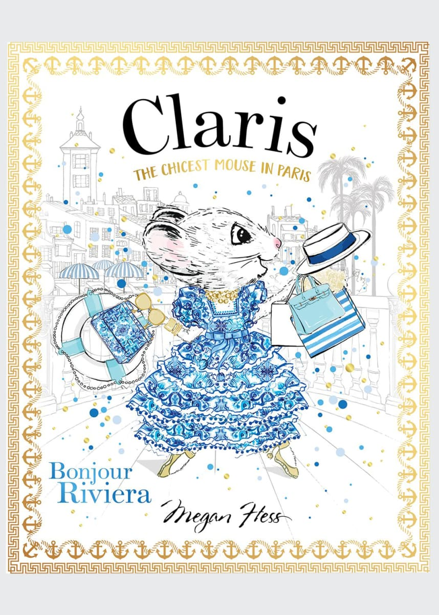 "Chronicle Books ""Claris Bonjour Riviera"" Children's Book by Megan Hess"