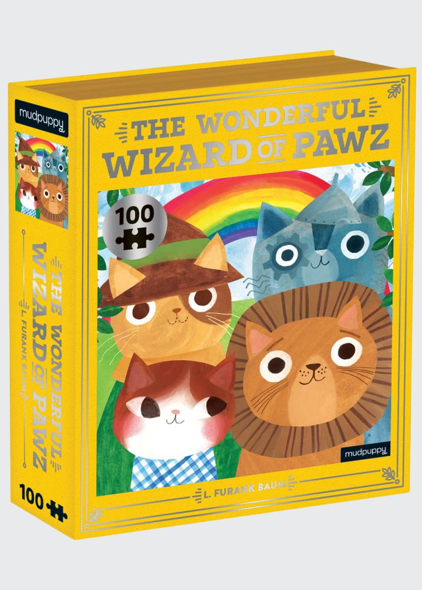 Chronicle Books The Wonderful Wizard of Pawz Puzzle
