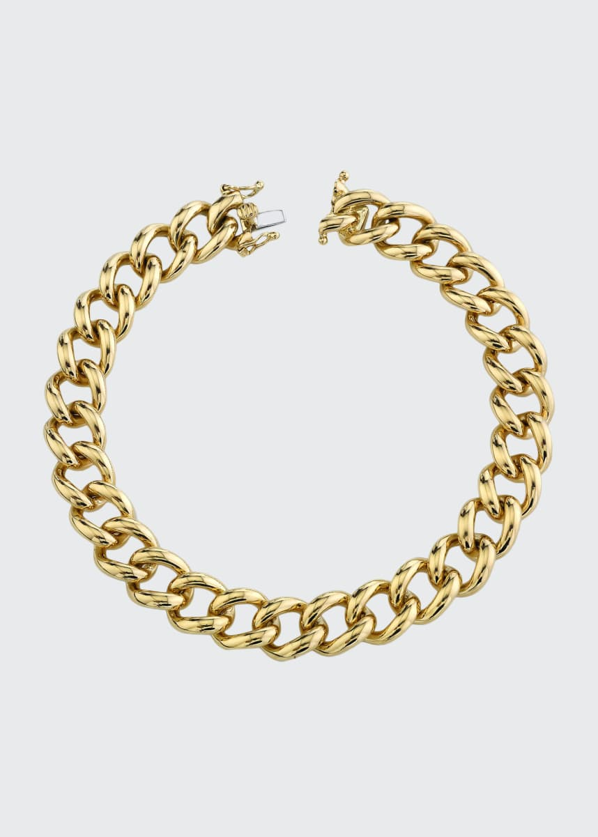 Anita Ko 18k Yellow Gold Chain-Link Bracelet