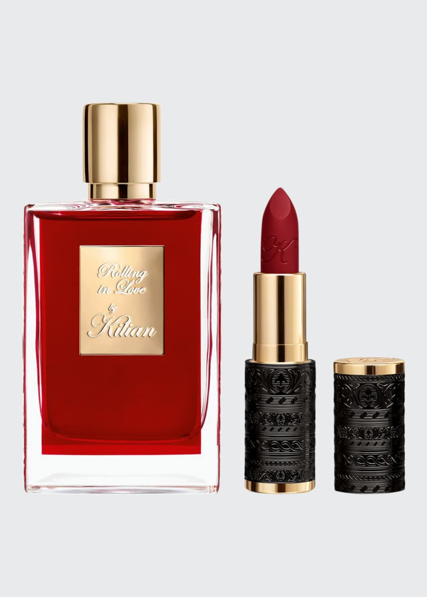 Kilian Rolling in Love & Le Rouge Parfum Holiday Set