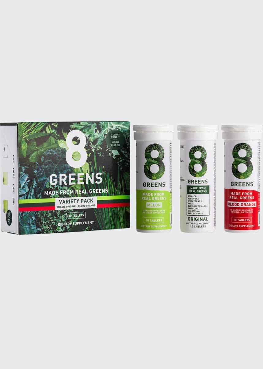 8 Greens Daily Effervescent Tablets Trio Pack
