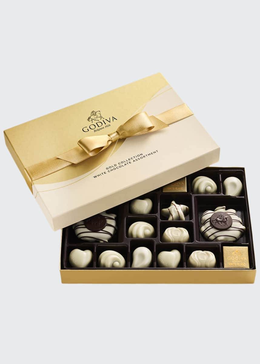 Godiva Chocolatier 22-Piece White Chocolate Assortment Gift Box